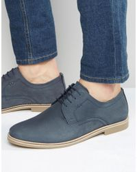 Red Tape Derby Shoes - Blue