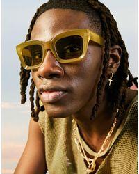 ASOS Occhiali da sole oversize - Multicolore