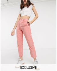 Reclaimed (vintage) - The '91 - Mom jeans - Lyst