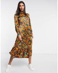 Ghost London Midaxi Dress - Multicolour