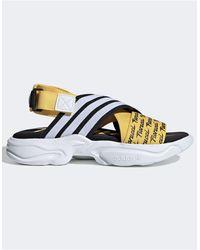 adidas Originals Желтые Сандалии X Fiorucci Magmur-желтый