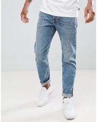 DIESEL - Larkee-beex Regular Tapered Jeans 084ux - Lyst