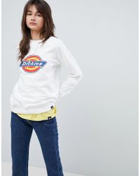 Dickies - Oversized Sweatshirt With Logo Print - Lyst