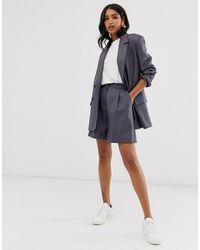 ASOS Mom Suit Shorts - Multicolour