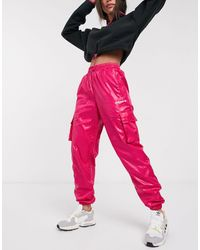 adidas Originals Tech Utility Trousers - Pink