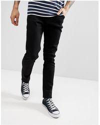 Weekday Friday - Jeans slim neri - Nero