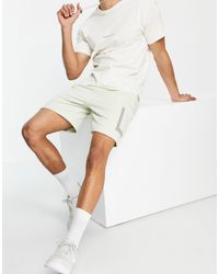 Another Influence Jersey Shorts With Pocket - Green