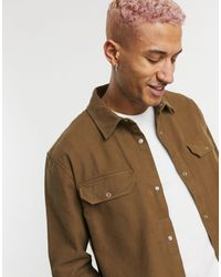 Weekday Camisa marrón Jud - Neutro