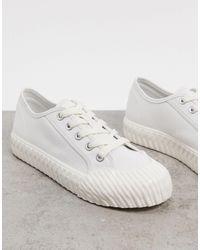 Stradivarius Sneaker - White
