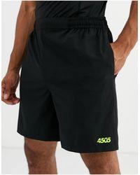 ASOS 4505 Pantaloncini icona da allenamento quick dry neri - Nero