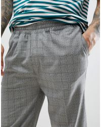 Bellfield - Trousers With Check - Lyst