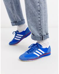 adidas Originals Baskets en toile SL 72 - Bleu