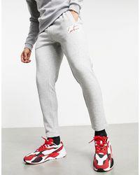 The Couture Club - Archive - Joggers affusolati con logo squadrato, colore grigio - Lyst