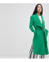 River Island - Duster Coat - Lyst