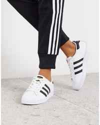 adidas Originals Черно-белые Кроссовки Superstar-мульти - Многоцветный