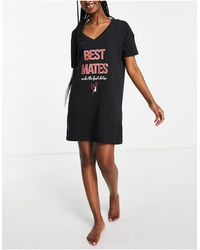 Ann Summers Best mates - chemise - Noir