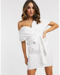 ASOS Vestido corto - Blanco
