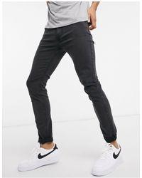 Lee Jeans Malone - Jeans skinny super elasticizzati nero slavato