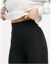 ASOS leggings With Deep Waistband - Black