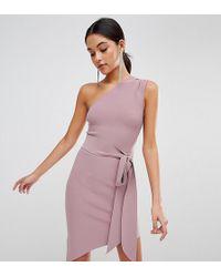 Bec & Bridge - Exclusive Tie Asymetric Dress - Lyst