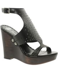Juicy Couture - Leather Wanda Wedges - Lyst