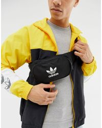 adidas Originals Черная Сумка-кошелек На Пояс -черный - Многоцветный
