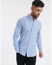 BOSS by Hugo Boss Mabsoot - Slim-fit Overhemd - Blauw