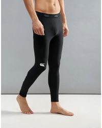 Canterbury - Canterbury Thermoreg Baselayer Tights In Black E512740-989 - Lyst