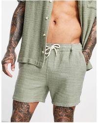 ASOS Shorts verde claro