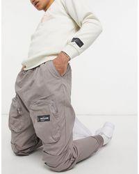 Sixth June - Pantaloni cargo marroni con cerniera lampo frontale - Lyst