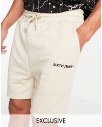 Sixth June Shorts beis básicos - Neutro