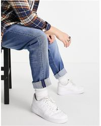 Timberland Straight Fit Heavy Drill Jeans - Blue