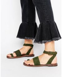 Free People - Torrence Flat Sandal - Lyst