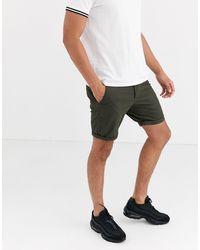 ASOS Skinny Chino Shorts - Multicolor