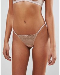 Coco De Mer - Reign By Embrace Thong - Lyst