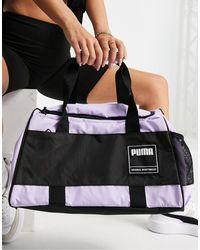PUMA Training - Sac polochon - Lilas - Violet