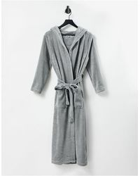 Brave Soul Oliviasoft Robe - Grey