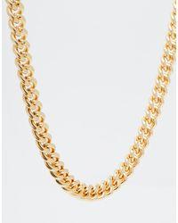 ASOS Midweight Chain - Metallic