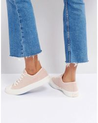 Converse - Jack Purcell Suede Trainers In Dusky Pink - Lyst