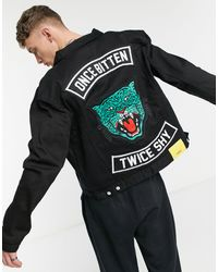 Wesc Once Bitten - Giacca di jeans - Nero