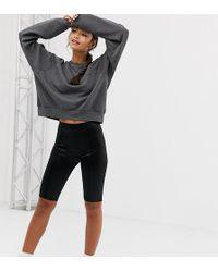8742b5ee38f0ce Short legging style disco - Noir