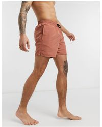 Another Influence Swim Shorts-brown - Multicolour