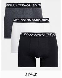 Bolongaro Trevor Boxer Brief Trunks - Multicolour