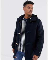 Farah Poppleton - Duffle-coat en laine - Bleu marine