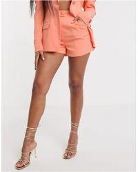 Lavish Alice - Оранжевые Шорты Классического Кроя -оранжевый - Lyst
