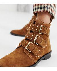 Stradivarius - Buckle Detail Ankle Boot - Lyst