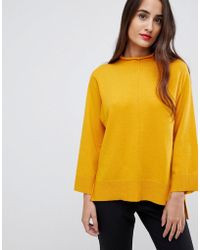 French Connection - Ebba Vahri High Neck Jumper - Lyst