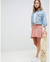 ASOS Fit-and-flare Minirok - Meerkleurig