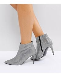 ASOS - Emberly Wide Fit Pointed Ankle Boots - Lyst