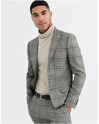 River Island Suit Jacket - Gray